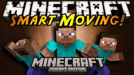 Mod SMART MOVING for Minecraft PE iOS and Android Download