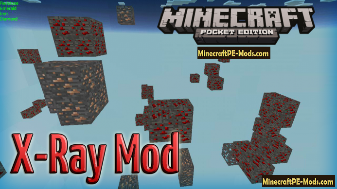 X Ray Mod For Minecraft PE Android Download