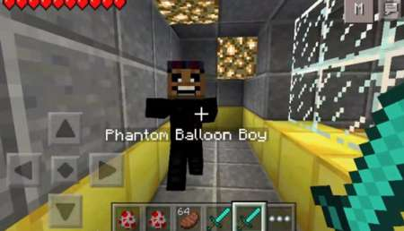 Five nights Freddy v 3 Mod for Minecraft PE iOS, Android