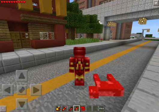 iron man mod for minecraft pe android download