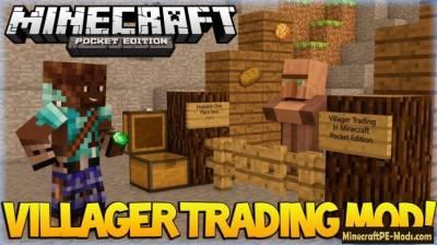 Minecraft pe trading system
