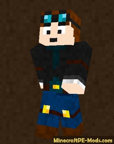 Skins for minecraft pe 1 0 - Diamond minecart clones ...