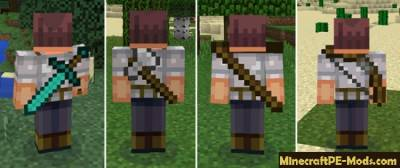 BackTools Mod For Minecraft PE 1.1.0, 1.0.6, 1.0.5, 1.0.4, 1.0.0
