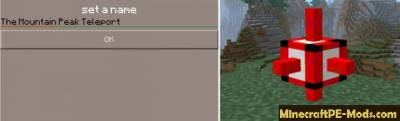 Fast Teleport Addon / Mod for BL MCPE