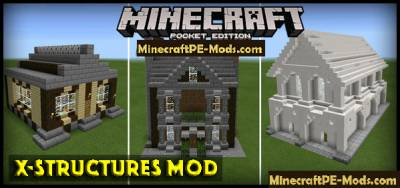 X-Structures Addon / Mod For MCPE