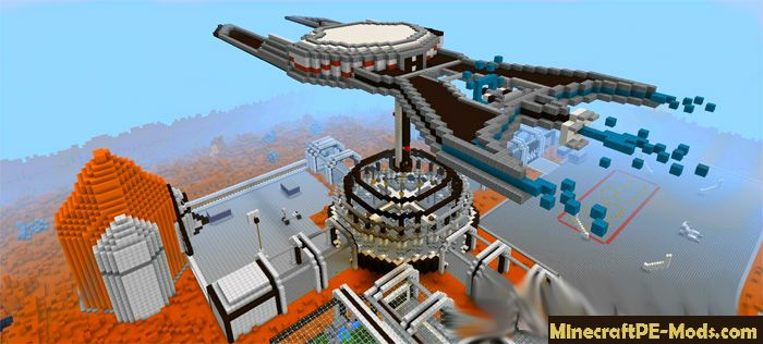 Hunger Games On Mars PvP Map for Minecraft PE 1.13.0 ...