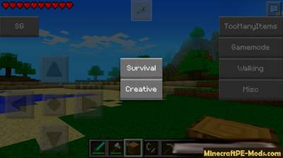 SuperGamer Mod For Minecraft PE