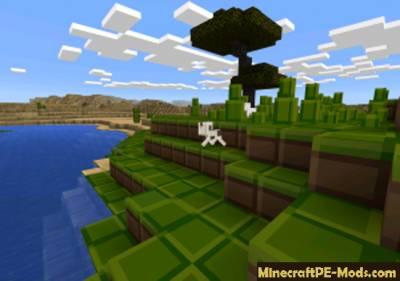 Tiny Pixels [8×8] Resource Pack For Minecraft PE 1.2.0, 1.1.5, 1.1.4