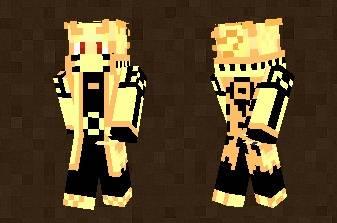 Asura From Naruto Skin For Minecraft PE - Skins para minecraft pe de naruto