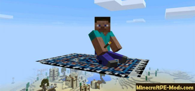 Magic Carpet Mod For Minecraft Pe Ios Android Download