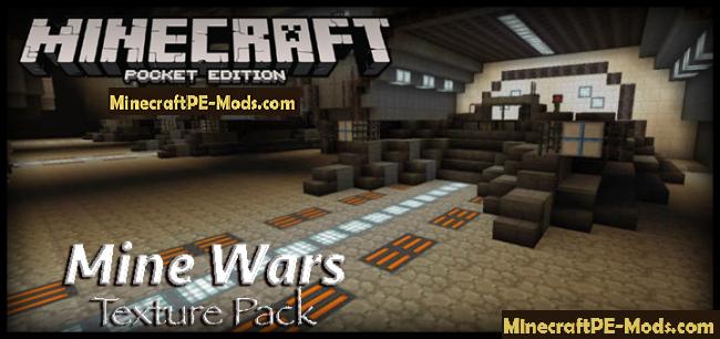 Mine Wars 32x Texture Resource Pack Minecraft Pe 1 11 1 10 1 9 Download