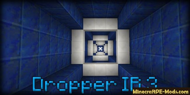 minecraft dropper map pe