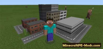 Mini City Texture / Resource Pack For MCPE