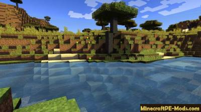 Realistic Shaders For Minecraft PE 1.2.0, 1.1.5, 1.1.4, 1.1.3