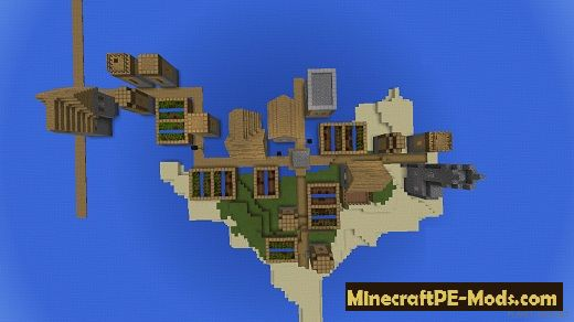 Water village Seed For Minecraft PE 1 12 0, 1 11 4, 1 11 1