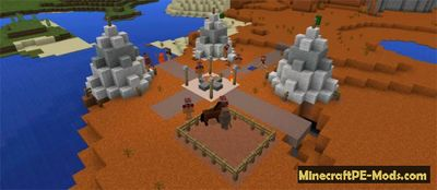 Life Mod For Minecraft PE 1.1.1, 1.1.0, 1.0.9, 1.0.8
