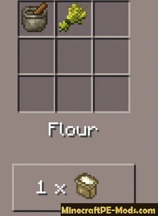 New More Food Minecraft PE Mod 1.0.6, 1.0.4, 1.0.3, 1.0.2, 1.0.0
