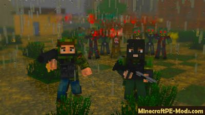 DayZ Mod For Minecraft PE 1.2.9, 1.2.8, 1.2.7, 1.2.6
