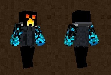 Ice Fire Creeper Skin For Minecraft PE - Skins para minecraft pe 0 15 2