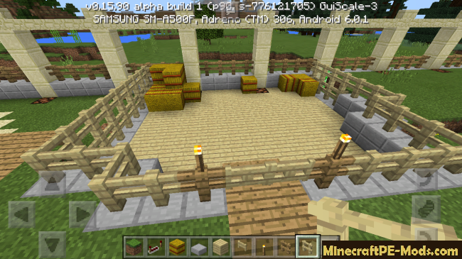 how to build a house in minecraft pe ipad