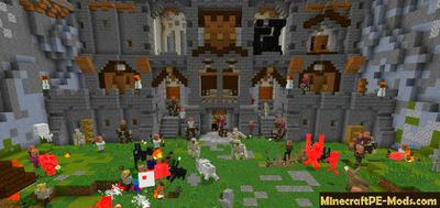 Castle Siege MCworld Official Map / Addon For MCPE 1 12 0