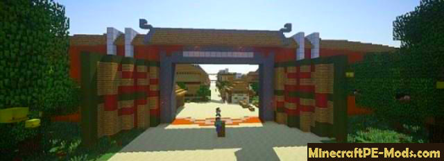 Village of naruto map for minecraft pe 1216 1213 1211 download village of naruto map for minecraft pe gumiabroncs