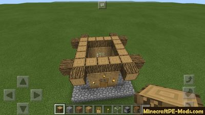 how to make a medieval house in minecraft pe