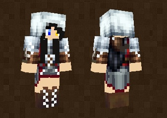 Assassin Creed Girl Skin For Minecraft PE - Skin para minecraft pe de assassins creed