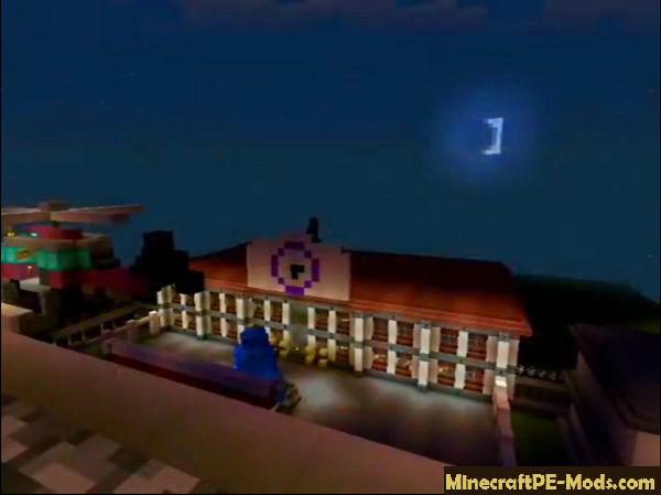 IP HighSchool RolePlay Server For Minecraft PE 1 12 0, 1 11