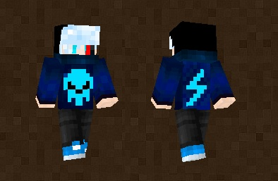 King Elements Skin For Minecraft PE - Skins para minecraft pe king