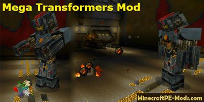 Mega Transformers Mod For Minecraft PE 1.2.0, 1.1.5, 1.1.4