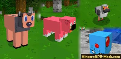 Big Pack Of Pokemons Mod For MCPE 1.2.0, 1.1.5, 1.1.4, 1.1.0
