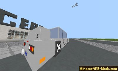Cag Modern Cars Mod For MCPE 1.2.0, 1.1.5, 1.1.4, 1.1.0