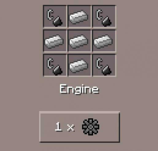 How to build a engine in minecraft | minecraft  2019-02-27