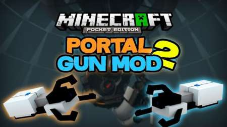 minecraft portal gun mod download pe