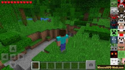Morph Mod For Minecraft PE 1.2.0, 1.1.5, 1.1.1, 1.1.0, 1.0.0