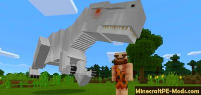 JurassicCraft Pack Mod For Minecraft PE 1.2.0, 1.1.5, 1.1.4