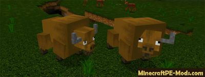 Time For Hunting Mod For Minecraft PE 1.2.0, 1.1.5, 1.1.4, 1.1.0