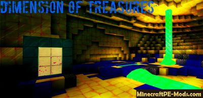 Dimension Of Treasures Texture Pack For MCPE 1.2.0, 1.1.5