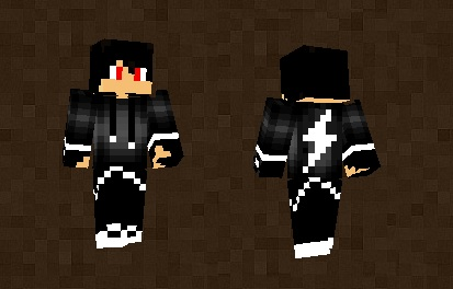 Black Demon Boy Skin For Minecraft PE - Skins para minecraft pe boy