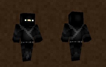 Black Ninja Skin For Minecraft PE - Ninja skins fur minecraft