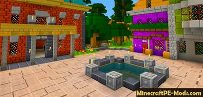 Mario Dendy Texture Pack For MCPE 1.2.0, 1.1.5, 1.1.4, 1.1.0