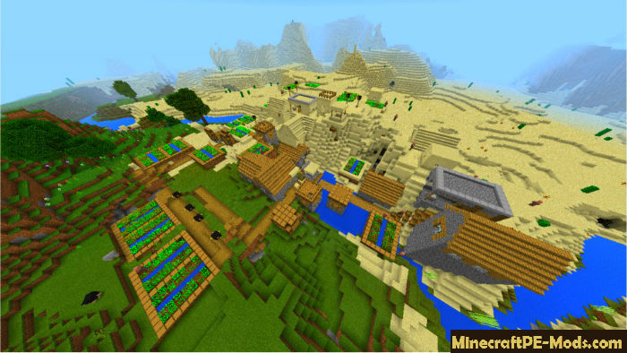 minecraft giant village seed