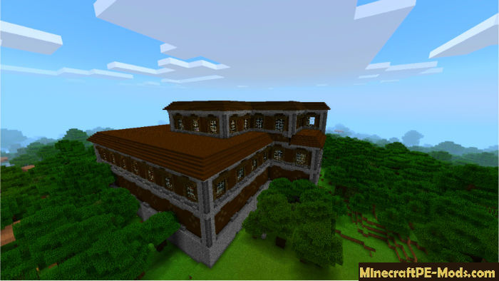 woodland mansion minecraft pe seed