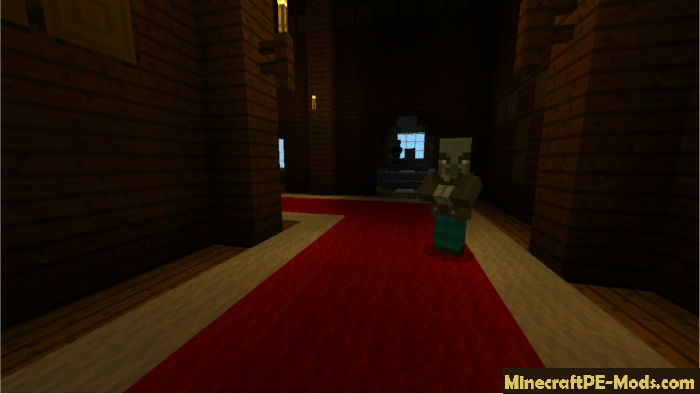 minecraft mansion seed pe