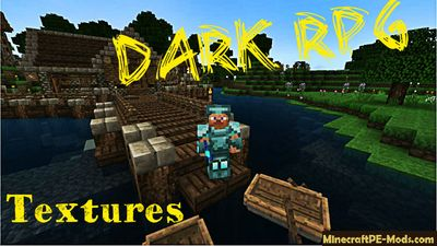 Dark RPG Minecraft PE Texture / Resource Pack 1.1.0.0, 1.1.0, 1.0.5