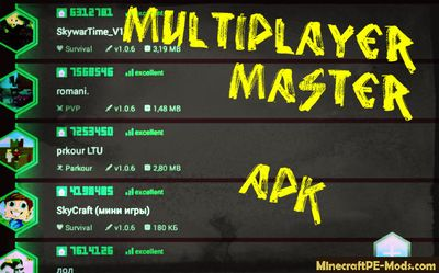 Multiplayer Master APK For MCPE