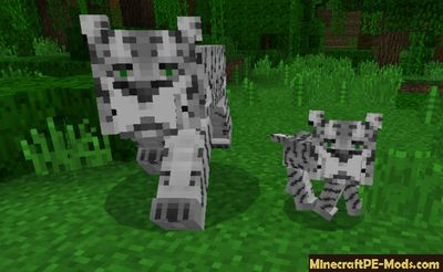 Pocket Creatures Minecraft PE Addon Pack