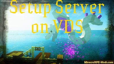 Setup Minecraft PE Server on VPS/VDS