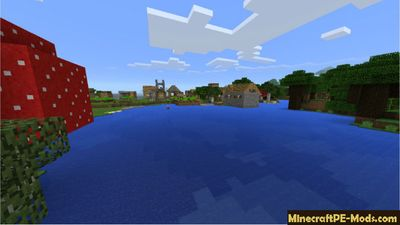 Town - Best Minecraft PE Seed For Survival
